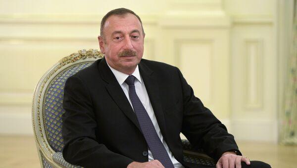 Президент Азербайджана. Архивное фото