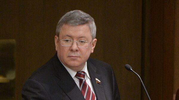 Первый заместитель председателя Совета Федерации Александр Торшин