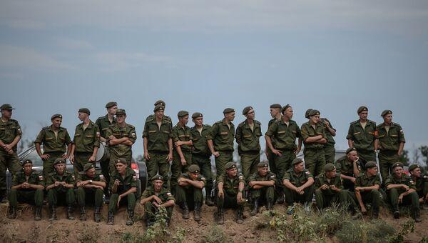 Военнослужащие армии России. Архивное фото