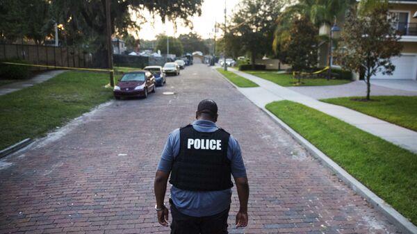 Офицер полиции штата Флорида, США. Архивное фото