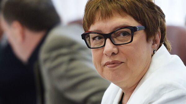 Президент ФК Локомотив Ольга Смородская