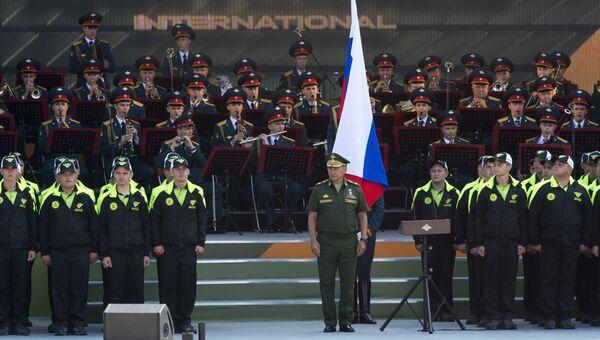 Церемония открытия Армейских международных игр - 2016 в подмосковной Кубинке. Архивное фото