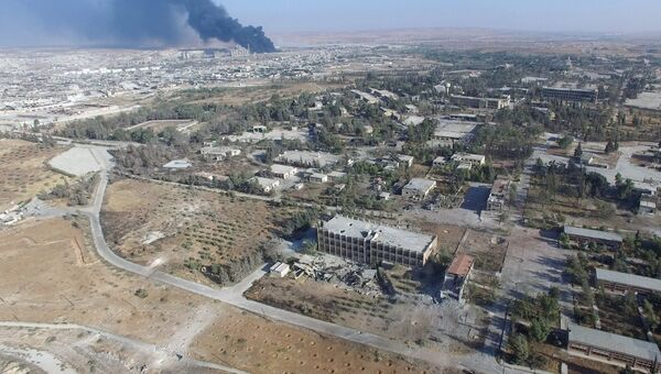 Алеппо в Сирии. Архивное фото