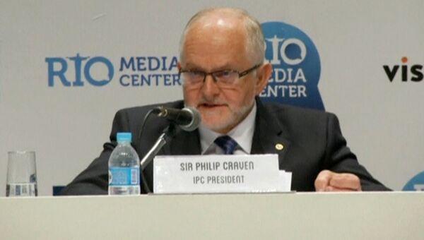 Второй президент Международного паралимпийского комитета сэр Филип Крэйвен.Архивное фото
