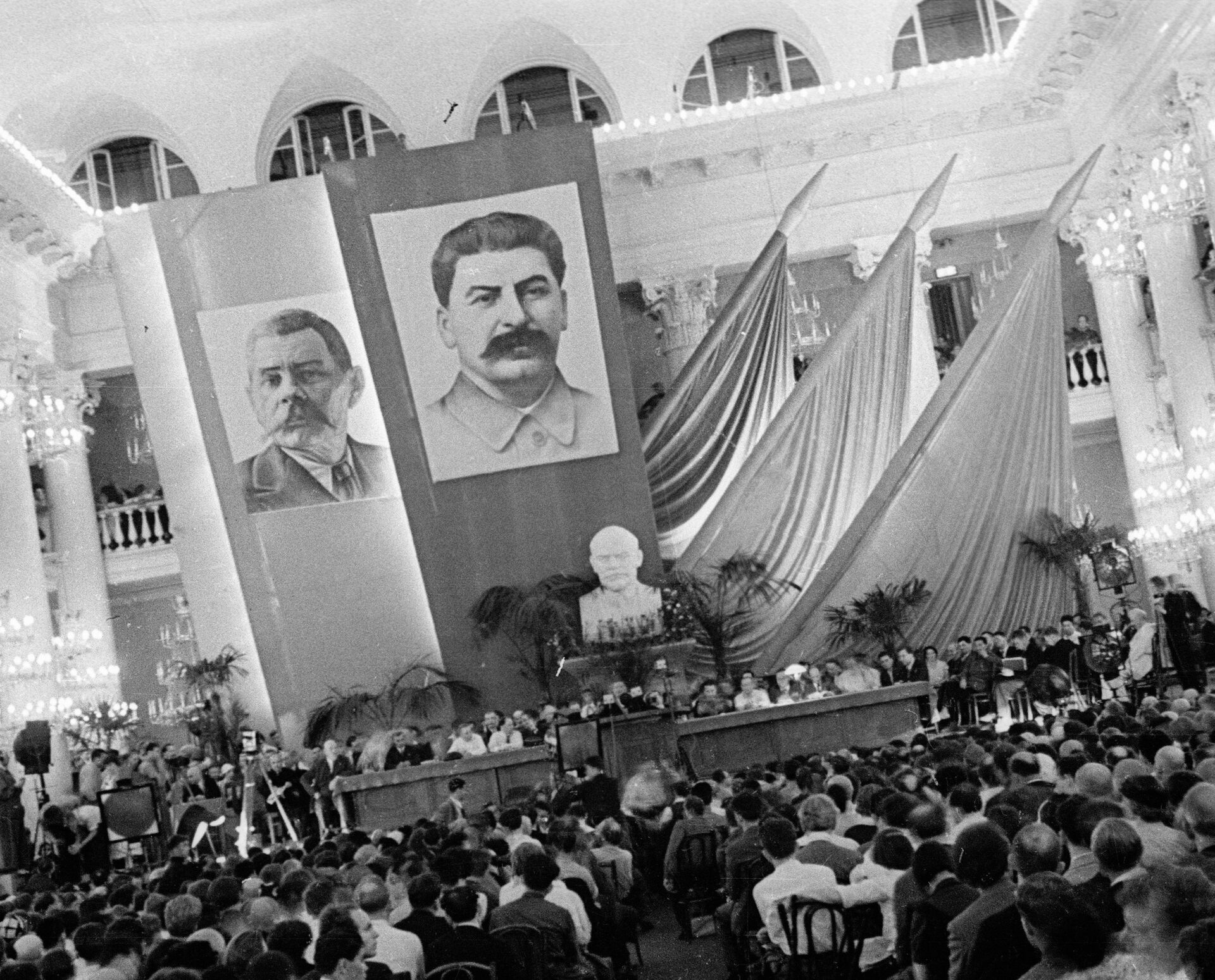 Первый съезд советских писателей - РИА Новости, 1920, 27.12.2020