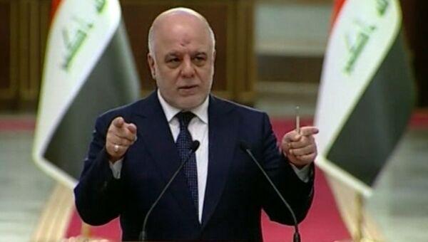 Премьер Ирака Хайдер аль-Абади. Архивное фото