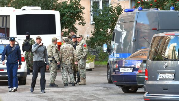 Операция по задержанию кавказских боевиков в Санкт-Петербурге