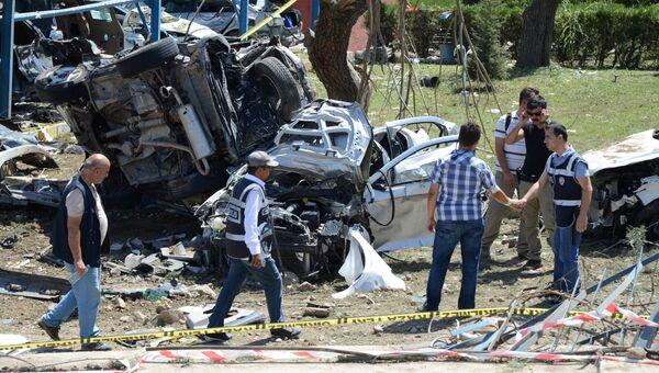 Последствия взрыва в Турции. Архивное фото