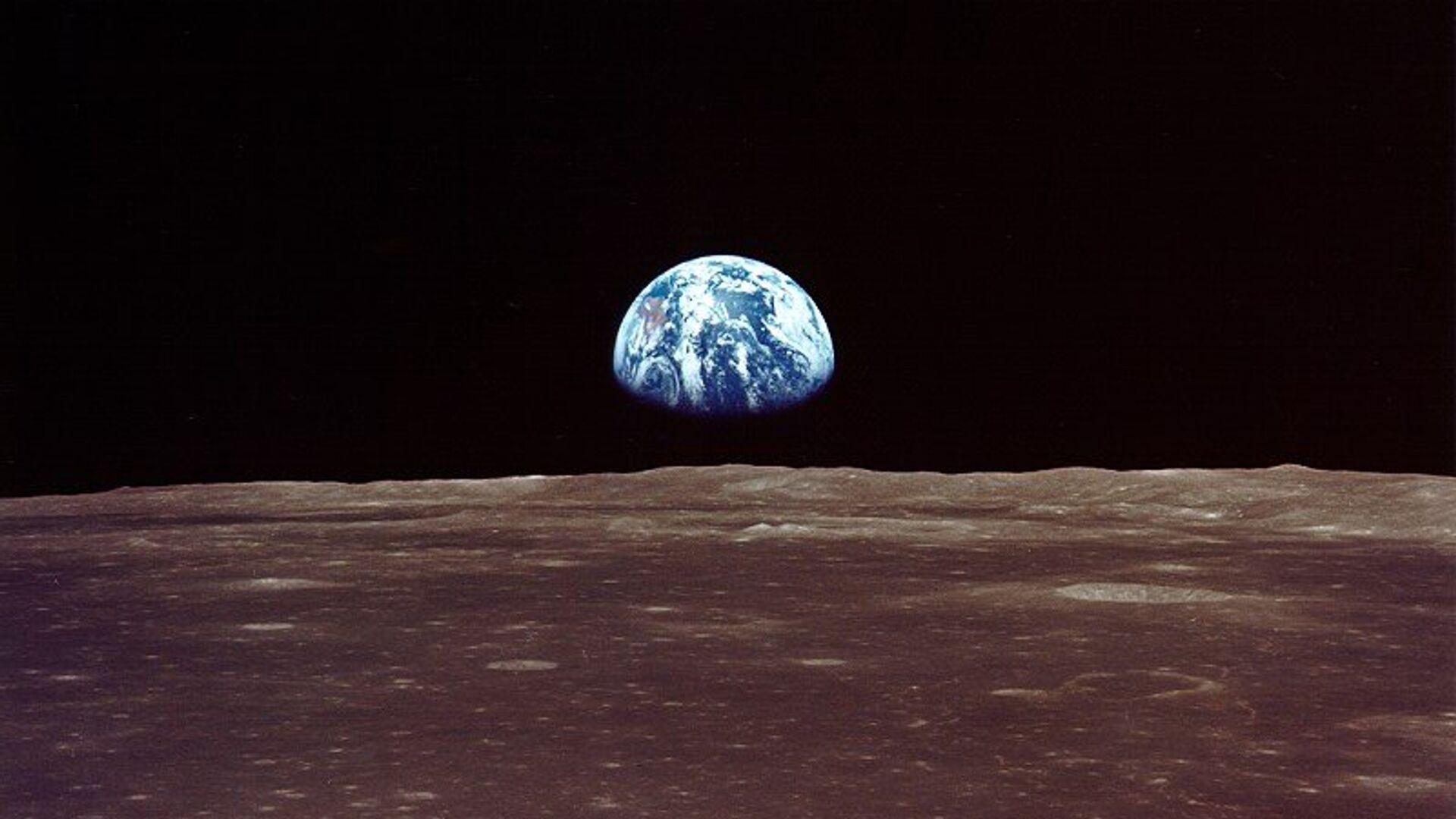 Вид на Землю с Луны - РИА Новости, 1920, 24.09.2020