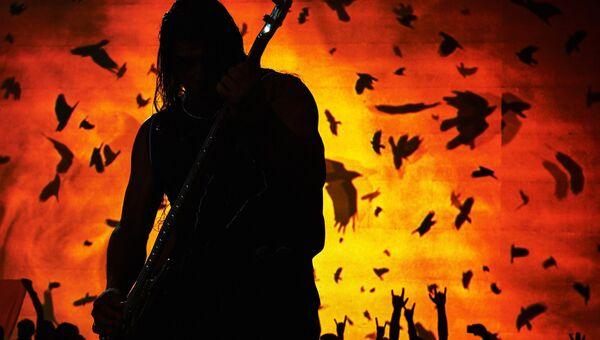 Концерт группы Metallica. Архивное фото