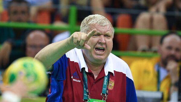 Главный тренер сборной России Евгений Трефилов. Архивное фото