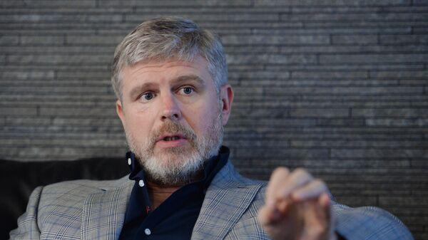 Президент промоутерской компании Мир Бокса Андрей Рябинский . Архивное фото