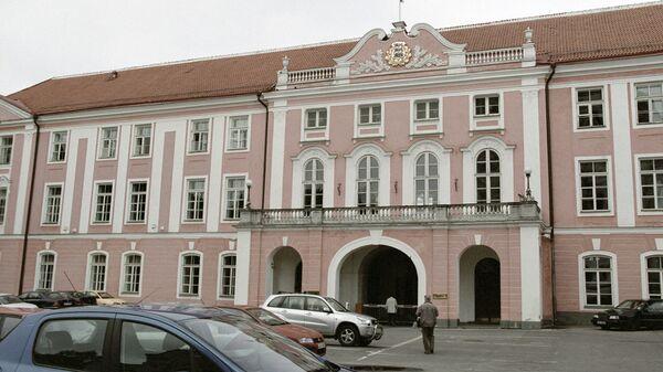 Здание эстонского парламента в Таллине. Архивное фото