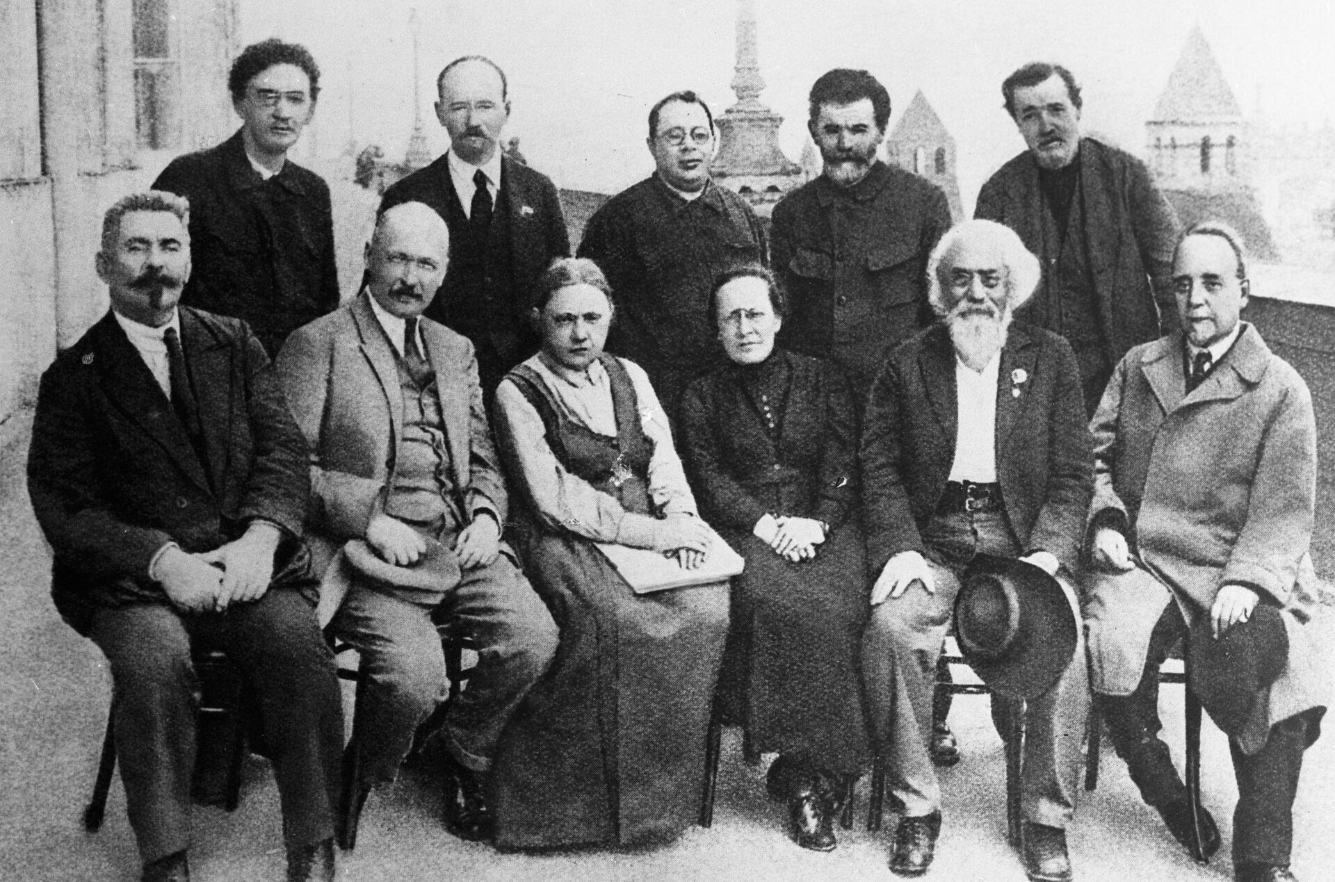 Большевики-организаторы и участники II-го съезда РСДРП - РИА Новости, 1920, 19.02.2021