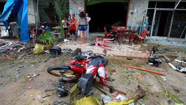 Последствия взрывов в Таиланде. 24 августа 2016