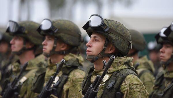 Учения ОДКБ Нерушимое братство-2016 в Белоруссии