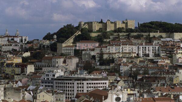 Вид на город Лиссабон