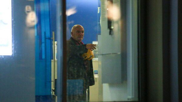 Мужчина, захвативший отделение банка на ул. Большая Никитская. Архивное фото