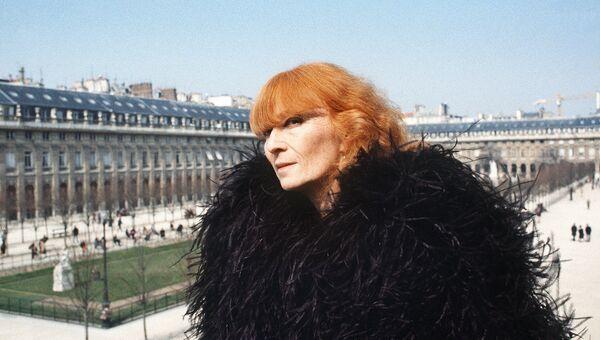 Французский кутюрье Соня Рикель в Париже, 1984 год