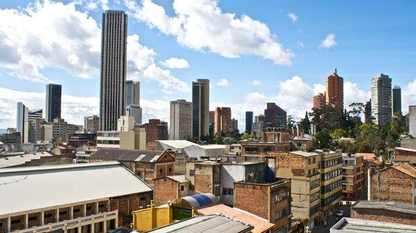 Вид на Боготу. Архивное фото