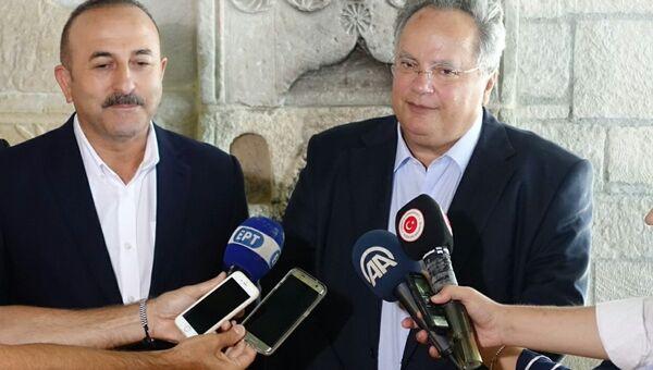 Неформальная встреча министров иностранных дел Греции и Турции на Крите