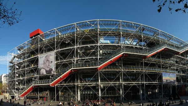 Центр Жоржа Помпиду в Париже. Архивное фото