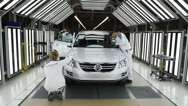 На заводе Volkswagen Group. Архивное фото