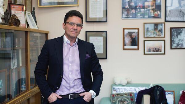Генеральный директор Библиотеки иностранной литературы имени Рудомино Вадим Дуда