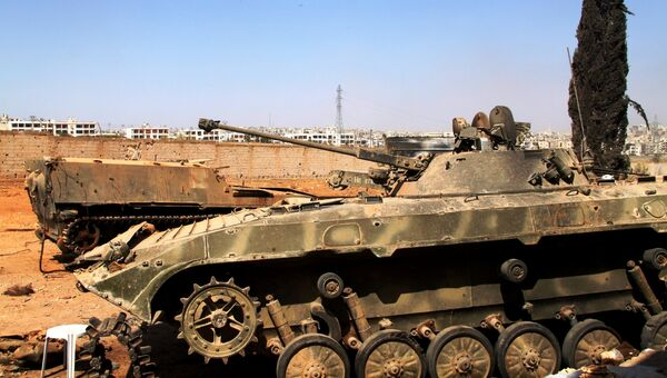 Бронетехника сирийской армии. Архивное фото