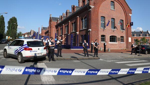 Сотрудники бельгийской полиции в Шарлеруа. Архивное фото