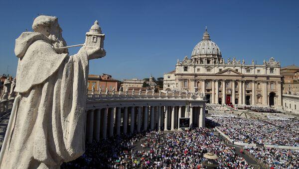 Ватикан. Канонизации Матери Терезы