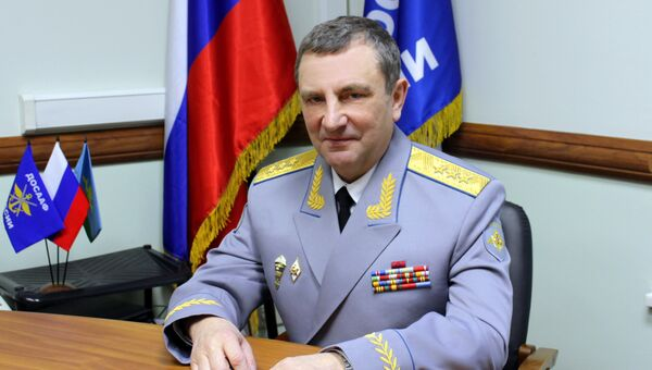 Председатель ДОСААФ России Александр Колмаков. Архивное фото