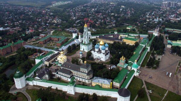 Троице-Сергиева лавра в городе Сергиевом Посаде Московской области. Архивное фото