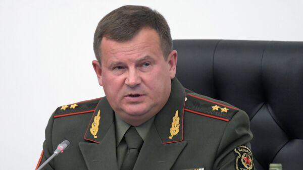 Министр обороны Белоруссии Андрей Равков