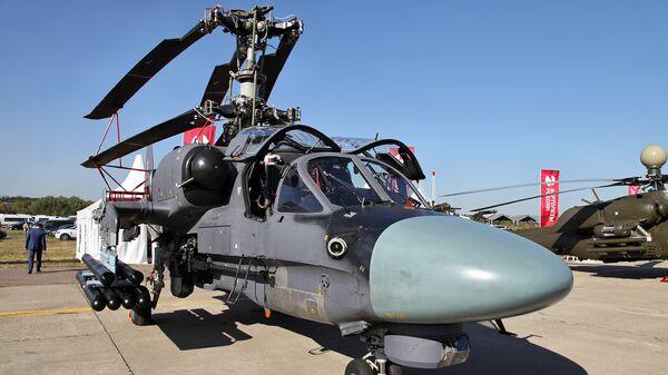 Вертолет Ка-52К Капран. Архивное фото