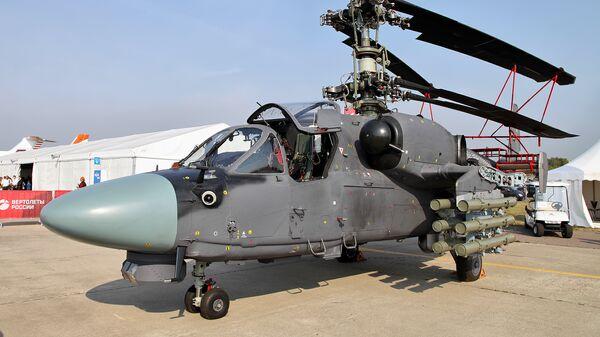 Вертолет Ка-52К Катран. Архивное фото