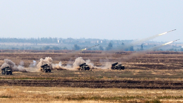 Российские военные на Кавказе