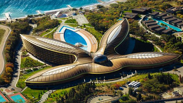 Курортный комплекс Mriya Resort & Spa в Ялте. Архивное фото