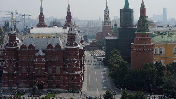 Вид на Государственный исторический музей. Архивное фото