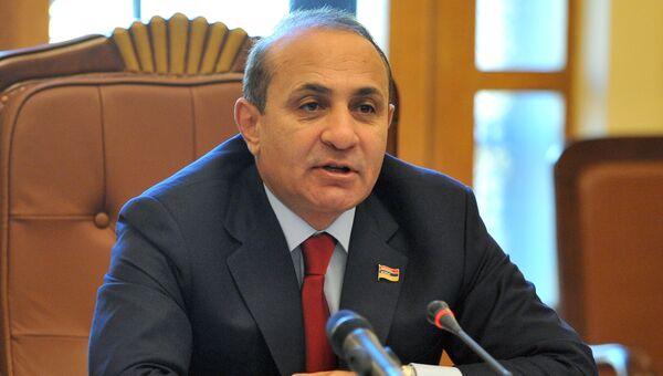 Премьер-министр Армении Овик Абраамян. Архивное фото