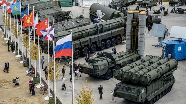 Международный военно-технический форум АРМИЯ-2016. Архивное фото