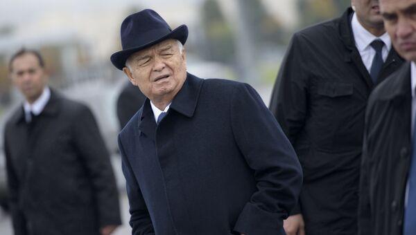 Первый президент Узбекистана Ислам Каримов. Архивное фото