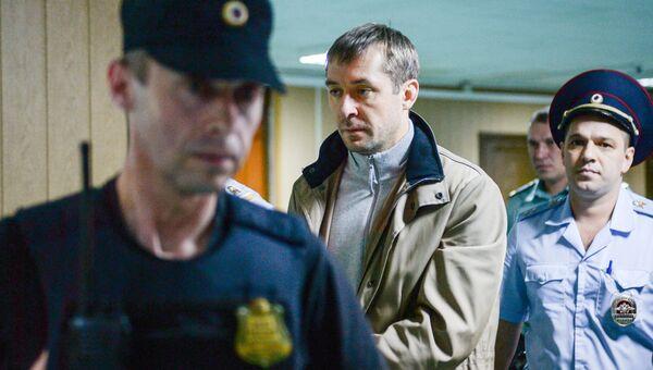 Дмитрий Захарченко в Пресненском суде Москвы. Архивное фото