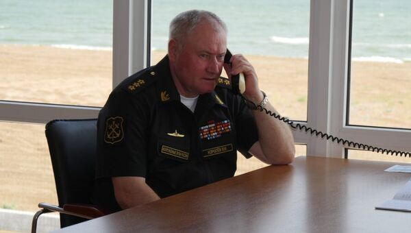 Главнокомандующий ВМФ России Адмирал Владимир Королев. Архивное фото