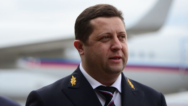 Генеральный директор Специального летного отряда Россия Ярослав Одинцев. архив