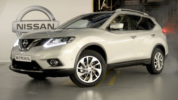 Автомобиль Nissan X-Trail. Архивное фото