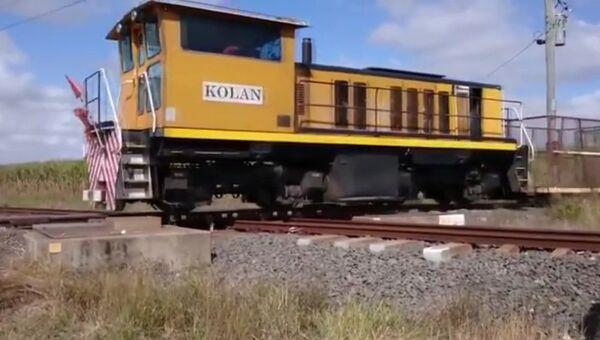 Железнодорожный перекресток