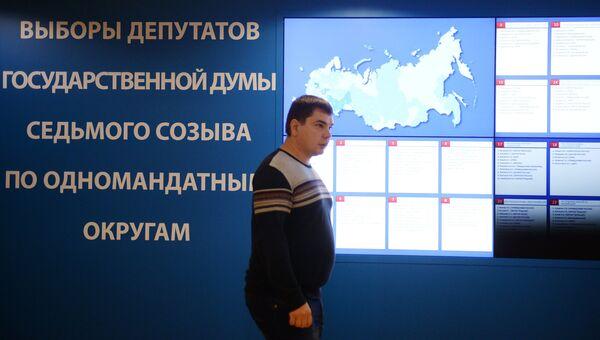Работа ЦИК РФ