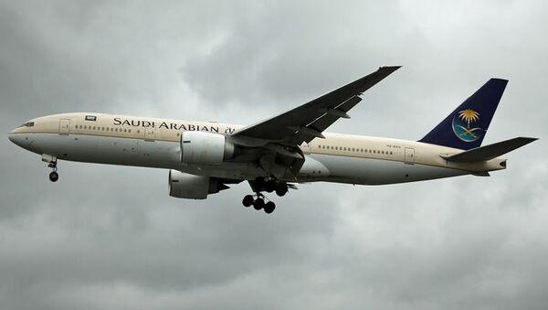 Самолет авиакомпании Saudi Arabian Airlines. Архивно фото