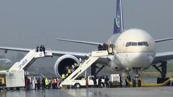 Самолет авиакомпании Saudia Airlines. Архивное фото